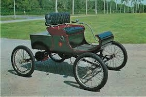 1901 olds curved dash runabout