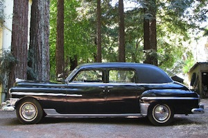 1950 chrysler imperial limosine