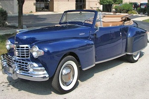 1948 lincoln cabriolet