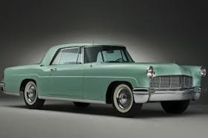 1955 lincoln mark II, 2
