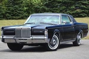 1969 lincoln continental mark III, 3