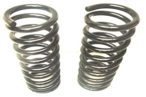 CS-730a - DODGE, PLYMOUTH FRONT COIL SPRINGS, 1941 - 52,  1-PAIR.  AMERICAN MADE TO OEM SPECS