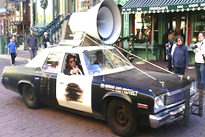 1972 dodge monaco police car, blues brothers
