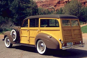 1939 chrysler imperial c23 woody wagon