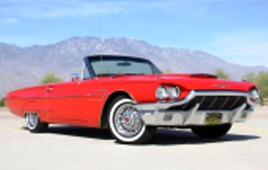 THUNDERBIRD - original ride - Hydraulic Shocks provide a smooth, soft, Classic T-Bird feel