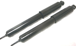 PX1008 - Rear Extra Hydraulic Heavy Duty Shocks. Fits 1936 - 1964, Ford, Mercury, Edsel, Hudson, Kaiser. 1-pair - LIFETIME WARRANTY
